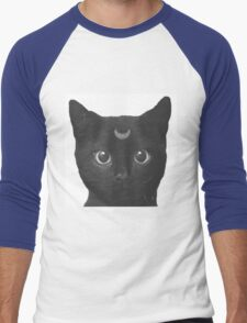 Moon Cat Spirit Men's Baseball ¾ T-Shirt
