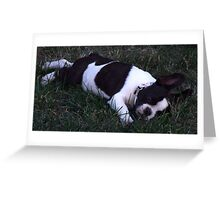 French Bulldog Elvis Greeting Card