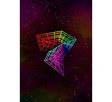 Geometry and Colors XIV - rainbow Photographic Print