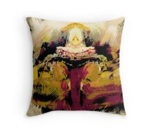 KINGS and QUEENS, abstract, Rembrandt, flipped photography Throw Pillow