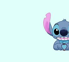 Stitch Loves You by 2cheekydisnerds
