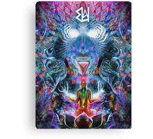 7 Chakra Underachiever Canvas Print