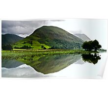 Brotherswater Reflection Poster