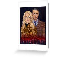 Hannibal & Bedelia Greeting Card