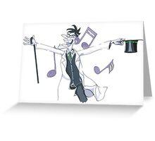 Musical Doof Greeting Card