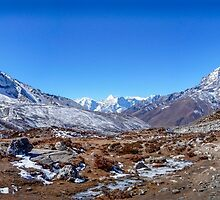 PANO Track To Dingboche by DavidMelville