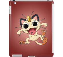 Meowth On Acid iPad Case/Skin