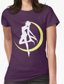 Sailor Moon logo clean Womens Fitted T-Shirt