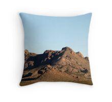 Dona Ana Mountians, New Mexico Throw Pillow