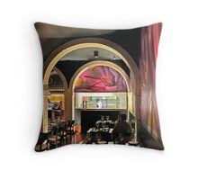 sharing the moment  Throw Pillow