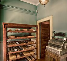 Vintage 19th century bakery by Eti Reid