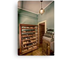 Vintage 19th century bakery Canvas Print
