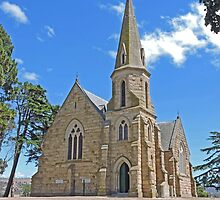 Uniting Church, Ross, Tasmania by Graeme  Hyde
