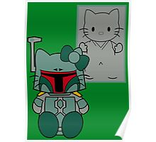 SOLO and FETT KITTY Poster