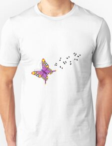 Butterfly Music Unisex T-Shirt