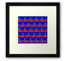 Beetlejuice Sandworm Leggings Framed Print