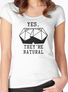 Natural D20s Women's Fitted Scoop T-Shirt