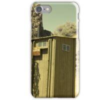 this outhouse iPhone Case/Skin