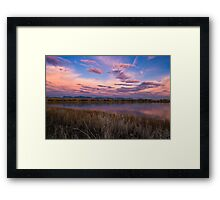 Cloudy To The West Framed Print