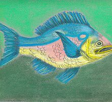 Tissue Fish by JenLand