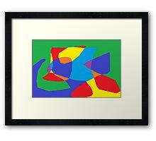 Paint Art Framed Print