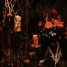 Halloween at the florists by Andrew  Wakelin