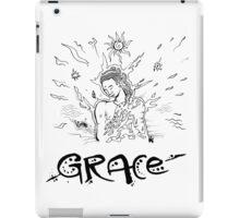 Grace - Drawn by Nataraaj iPad Case/Skin