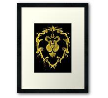 Alliance Lion Framed Print