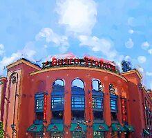 Busch Stadium Sky! by John Farr