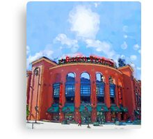 Busch Stadium Sky! Canvas Print