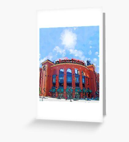 Busch Stadium Sky! Greeting Card