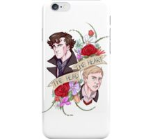 The Head, The Heart iPhone Case/Skin