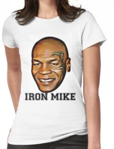 MIKE TYSON (iron mike) Womens Fitted T-Shirt