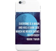 Everyone Is A Moon iPhone Case/Skin