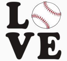 Love Baseball by coolfuntees