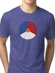 Roundel of the Royal Netherlands Air Force Tri-blend T-Shirt