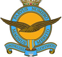Emblem of the Royal Netherlands Air Force by abbeyz71