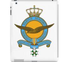 Emblem of the Royal Netherlands Air Force iPad Case/Skin