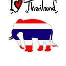 I LOVE THAI ELEPHANTS by harrisonformula