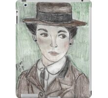 Coco Chanel(as Portrayed by Audrey Tatou) iPad Case/Skin
