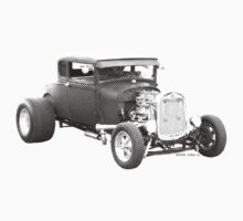 Hot Rod Ford 2-Color by John Ayo