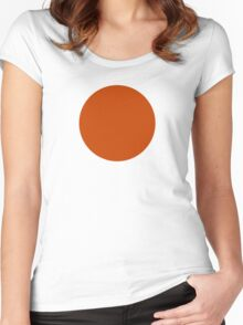 Roundel of the Royal Netherlands Air Force (Luchtvaartafdeling), 1914-1921 Women's Fitted Scoop T-Shirt