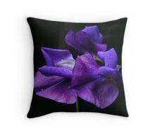 Sweet purple ... Throw Pillow