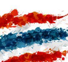 I LOVE THAILAND FLAG Sticker