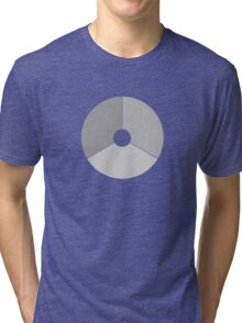 Roundel of the Royal Netherlands Air Force (low visibility) Tri-blend T-Shirt