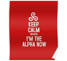 Keep Calm Because I'm The Alpha Poster