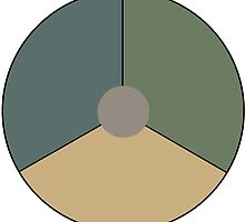 Roundel of the Royal Netherlands Air Force (low visibility) by abbeyz71