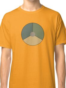 Roundel of the Royal Netherlands Air Force (low visibility) Classic T-Shirt