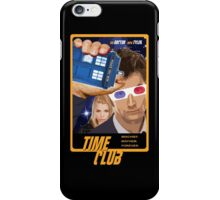 Time Club   Doctor Who   The Tenth Doctor & Rose Tyler   3D Glasses iPhone Case/Skin