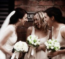 Bec and the bridemaids by nomes